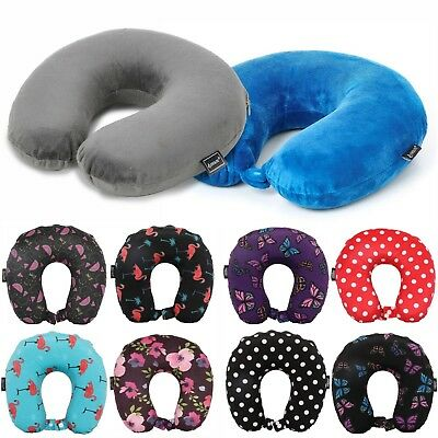 Neck Travel Pillow Comfortable Support Soft Luxury Memory Foam Cushion