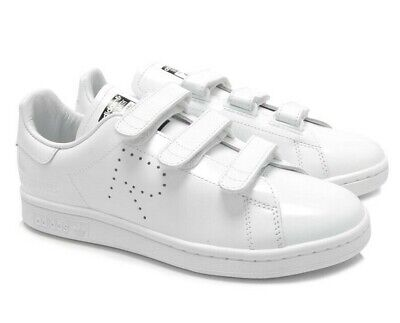 cheap for discount c7e8e 5e50d Adidas By Raf Simons Stan Smith White Leather Comfort Sneakers   Trainers  S81170