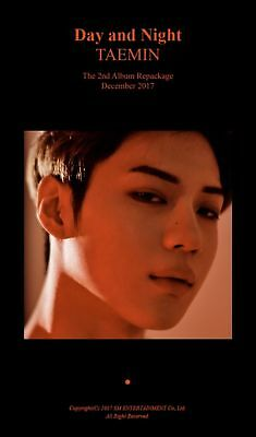 SHINEE TAEMIN [MOVE-ING] 2nd Repackage Album CD+POSTER+P.Book+Card+GIFT SEALED