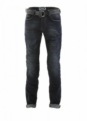 Pmj Legend Motorcycle Jeans In Blue Mid UK 30 / EU46