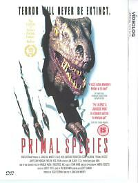 Primal Species (DVD 1997) *NEW & SEALED* Thriller Horror Sci-fi FREE UK SHIPPING
