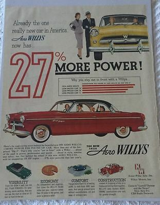 1954 AERO WILLYS Eagle Lark and Falcon Color Brochure Catalog ...  Willys Aero Wiring Diagram on 1953 willys wiring diagram, 1955 willys wiring diagram, 1952 willys wiring diagram, 1958 willys wiring diagram, 1954 willys water pump,