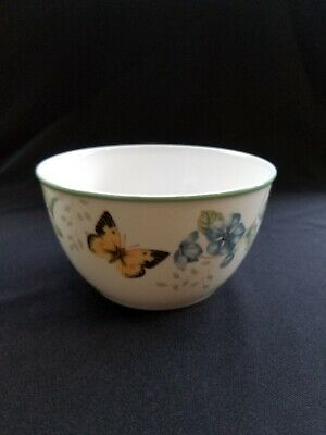 "* Lenox Butterfly Meadow Bowl 5.75"" Diameter 3"" Deep"