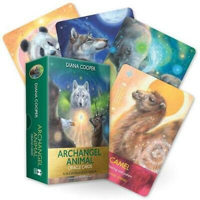 Archangel Animal Oracle Cards: A 44-Card Deck and Guidebook by Diana Cooper Free