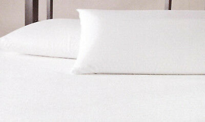 Waterproof Pillow Protectors Emperor Size Zipped Pack of 2 Hotel Quality