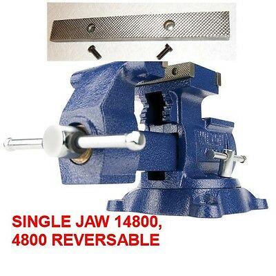 """Wilton Vise Replacement Vise Jaws 14800, 4800, 8""""  3 jaw vises ONE JAW ONLY----"""