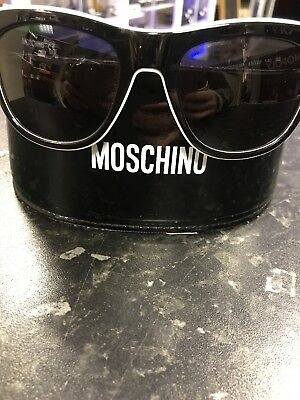 2e63100d7bf LOVE MOSCHINO PREPPY Sunglasses Black with White Outline - New with ...