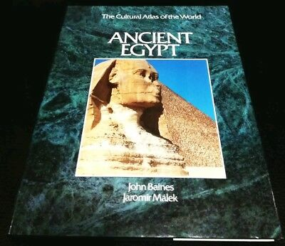 Ancient Egypt The Cultural Atlas Of The World Book