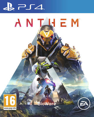 Anthem Playstation 4 Ps4 Nuovo Sigillato Copertina Eu Standard Edition Italiano