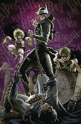 Batman Who Laughs #4 (Of 6) Var Ed Pre-Order 10/04/19 (2018) Vf/nm Dc