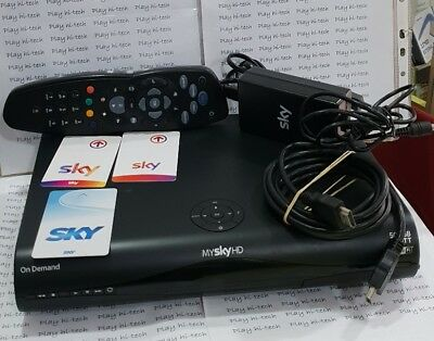 decoder mysky hd ondemand 500gb Wi-Fi  mod.dps5002ns LEGGE TUTTE LE SCHEDE IN HD