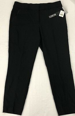 Xoxo Womens Black Natalie Dress Pants Size- 13/14 (P)