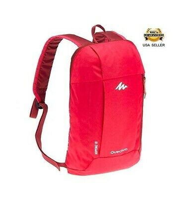 7c009d4a02e7 QUECHUA KIDS ADULT Outdoor Backpack Daypack Mini Small Bookbags10L ...