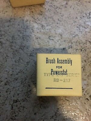 Superior Electric Rb-217 Powerstat Brush Assembly