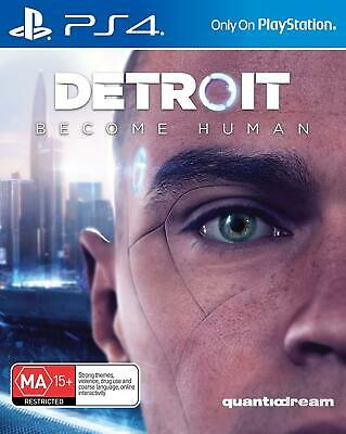 Detroit Become Human - Playstation 4 (PS4) Brand New Sealed