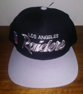 VINTAGE SPORTS SPECIALTIES LOS ANGELES RAIDERS HAT   CAP FITTED (7-1 ... aa0cc5348