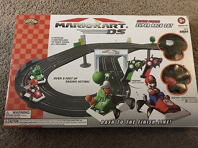 Mario Kart Ds Speed Race Track Set Battery Powered