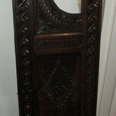 18Th /17Th Century Carved Oak Panel