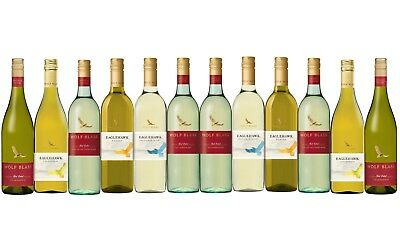 White Wine Mixed Wolf Blass Summer Favorites Pack 12x750ml Fast & Free Delivery