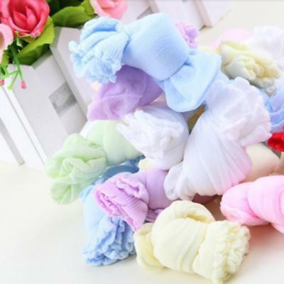 Hot sale 5Pairs/Lot Baby Candy Colorful Comfortable Kids Children Baby Socks