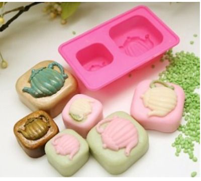 (Silicon Mould) Miniport-2 balls Silicone soap Mould plaster Mold