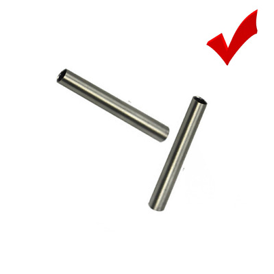 3x Temperature Sensor Stainless Steel Tube 6x50mm for PT100 DS18B20 Cable Lead