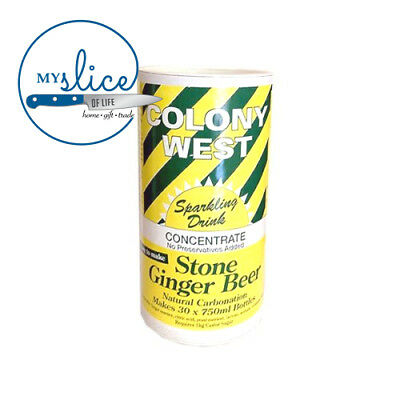 Colony West Stone Ginger Beer - Alcoholic or Non Alcoholic