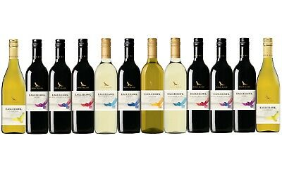 Mixed Wine Ultimate Wolf Blass Experince Pack 12x750ml Fast & Free Delivery