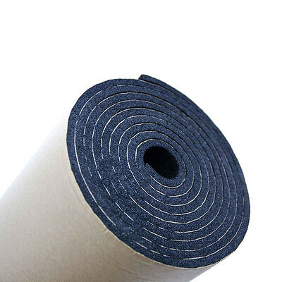 1Roll 10mm Car Auto Sound Proofing Deadening Insulation Closed Cell Foam 50X300