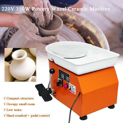 25CM Electric Pottery Wheel Ceramic Machine 250W For Work Clay Art Craft 220V AU
