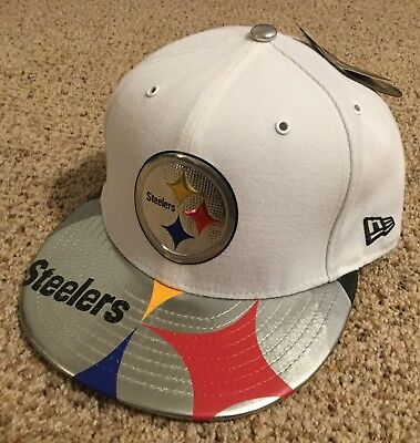 quality design 1fb19 47496 Pittsburgh Steelers New Era 59Fifty Official On Stage Draft Day Fitted Hat  7 3 8