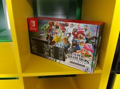 Switch Console Super Smash Bros Ultimate Limited Edition no game