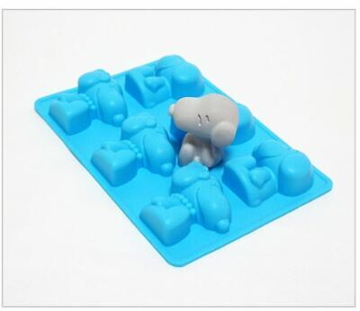 Snoopy 6 balls  Silicone soap Mould plaster Mold