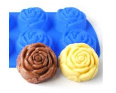 Six roses balls (large) Silicone soap Mould plaster Mold