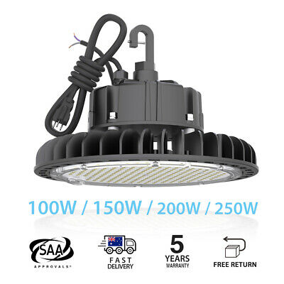 High Bay100-250W Dimmable LED LIGHT IP65 Highbay Commercial Industrial warehouse