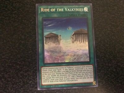 Ride of the Valkyries Secret Rare SHVA-EN006 Near-Mint 1st Edition