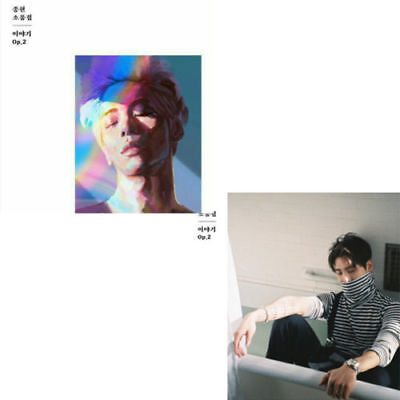 SHINEE JONGHYUN [THE STORY OP.2] Album RANDOM CD+Photo Book+M.Card+GIFT SEALED