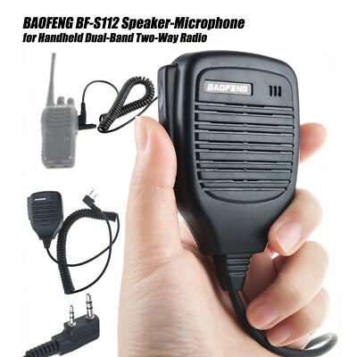 BAOFENG BF-S112 Speaker-Microphone Walkie for Handheld Dual-Band Two-Way Radio