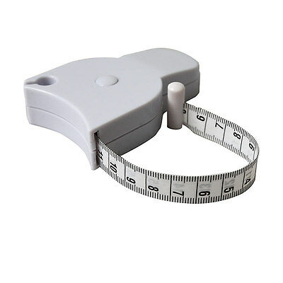 Pleasing Best Body Measuring Tape Tool Auto Retract - Waist Chest Arms Legs RR