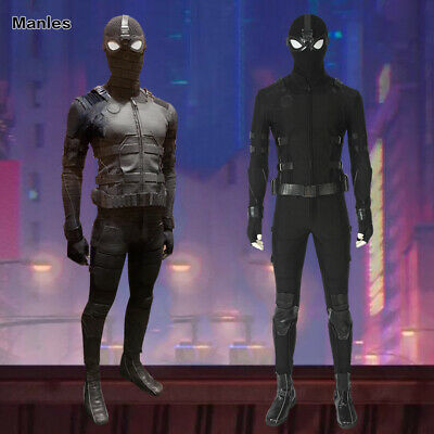 Spider-Man Far From Home Costume Spiderman Stealth Suit Cosplay Props Men Outfit