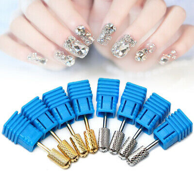 Pro Tungsten Nail Art Grinding Drill Bits Electric Nail Drill Head Manicure Tool