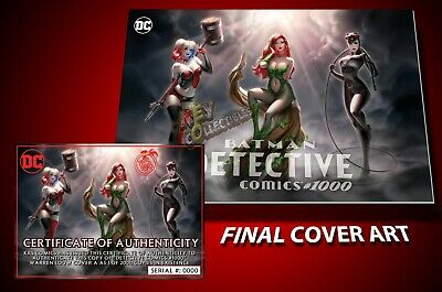 Detective Comics #1000 WARREN LOUW COVER A VARIANT Poison Ivy Catwoman Harley