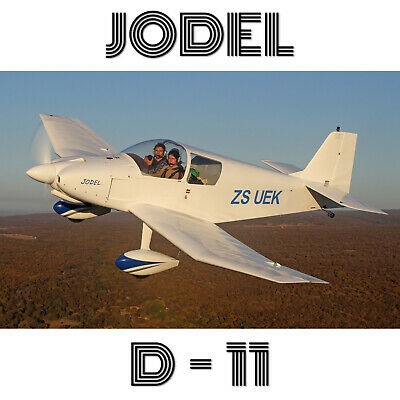 Jodel D11 – Plans And Information Set For Homebuild 2 Seat Wood Aircraft