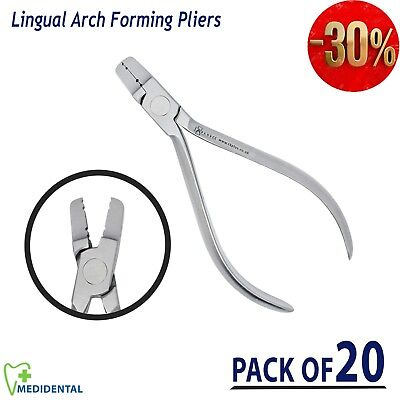 Lingual Arch Forming Pliers Orthodontic Tools Dental Ortho Equipment pack of 20