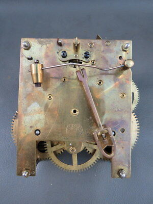 Vintage Jahresuhrenfabrik clock movement - repair spares or parts