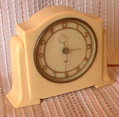 Art Deco SMITHS 'SECTRIC' Mantel Clock, Retro, shabby chic, vintage
