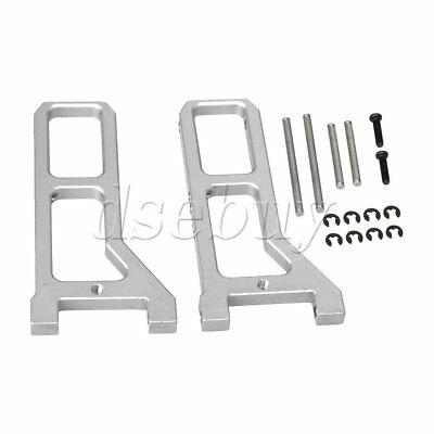 Aluminum Alloy Front Suspension Arm for RC 1:16 Large Foot Car Silver