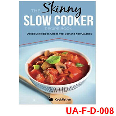 Cook Nation Skinny Slow Cooker Recipe Book Soups & Stews NEW BOOK