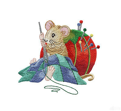 35 Mouse Stitchey Designs for Machine Embroidery - On a CD