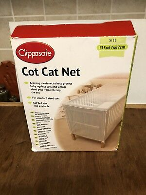 Cot Cat Net Clippsafe 135 X 67 X 67